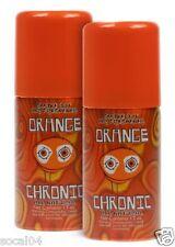 Orange Air Freshener Smoke Out Spray 1.5 oz Car Office Hotel Boat 2 Pack Chronic