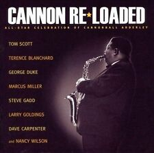 Cannon Re-Loaded All-Star Celebration of Cannonball Adderley by Tom Scott CD NEW
