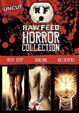 Raw Feed Horror - BELIEVERS, REST STOP, and SUBLIME  (DVD 3 Scary Movies)