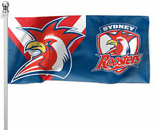 Sydney Roosters NRL Pole Flag LARGE 1800 x 900mm  (Pole not included) Man Cave
