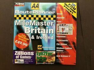 AA Route Planner MileMaster Britain & Ireland. PC CD-ROM (C49 )