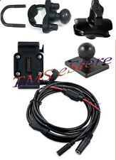Garmin Zumo 665LM 665 Motorcycle GPS Cradle+ Hardwired Harness+Handlebar Z-Mount