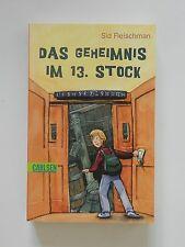 Sid Fleischmann Das Geheimnis im 13 Stock Carlsen Verlag +