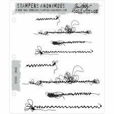Tim Holtz Cling Stamps - Stitches