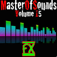 Vol 15 -FX - SOUND EFFECTS - UNIVERSAL Wav Loops + Samples  FAST DOWNLOAD
