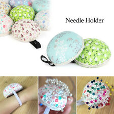 Tool Home Supplies Wrist Strap Floral Needle Holder Sewing Pin Cushion