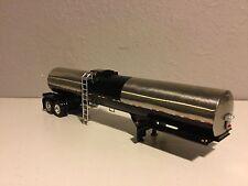 Dcp 1/64 1/2 Stainless & 1/2 Black Brenner Asphalt Tanker