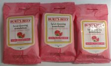3/Pack - Burt's Bees Facial Cleansing Towelettes, Pink Grapefruit Seed Oil