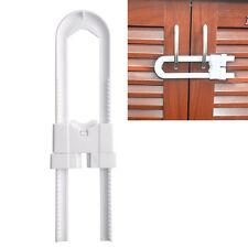 Infant Baby Kid Safety Drawer Door Window Cabinet Toilet U Shape Lock