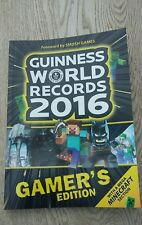 Guiness World Records 2016 Gamers Edition Book Mega Minecraft Section vgc