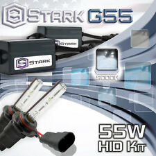 Stark 55W Micro HID High Beam Slim Xenon Kit - 9005 HB3 5K 5000K White (V)