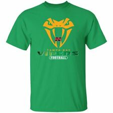 NEW American Football Tampa Bay Vipers Football T-shirt XFL Tournament Men's Tee