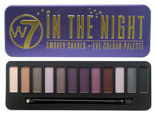 W7 in the Night Smokey Shades Eye Colour Palette Build Different Looks