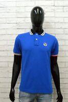 North Sails Maglia Uomo Taglia S Maglietta Polo Cotone Manica Corta Shirt Blu