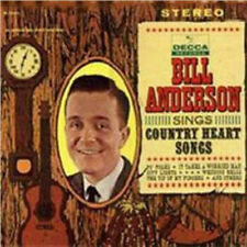 """BILL ANDERSON """"Sings Country Heart Songs"""" USED 1962 Decca LP EX/EX"""