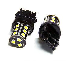 2x LED 3156 3157 3057 Bulb 6000K White Blinker Tail Stop Reverse Backup Light