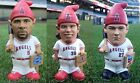 Albert Pujols Gnome Jered Weaver Gnome Mike Trout Gnome Lot of 3 LA Angels SGAs