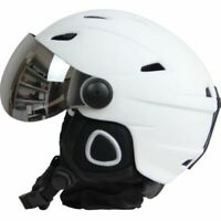 Half-covered Ski Helmet With Goggles Visor Snowboard Helmet Winter Snow Sled