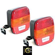 2X Luci Posteriori Fanale Retrovisore Euro Style Jeep Wrangler Tj Anno 96-06