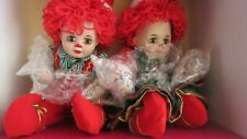 Jingles and Belle Tiny Tot Porcelain Dolls by Marie Osmond- NIB