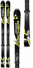 New Fischer Cruzar Fire 165 cm alpine downhill skis and bindings all mountain