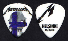 Metallica James Hetfield Helsinki 5/9/18 Guitar Pick - 2018 WorldWired Tour