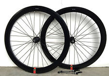 Stars Road Bike700c Deep 50mm 8 9 10 speed Shimano Wheelset Wheelsw Q.R.Black