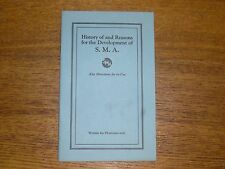 1922 Medical Publication History & Reasons For Development Of S.M.A. Breast Milk
