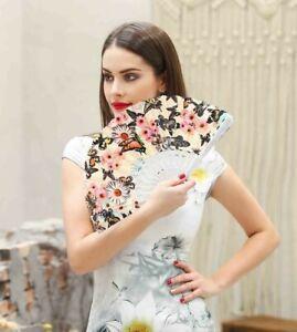 Lace Folding Fan Hand Held Spanish Vintage Dance Tela Flower Wedding Party Gift