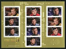 Canada 2016 Star Trek Complete Booklet Mint Never Hinged