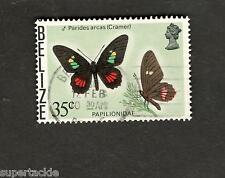 1977 Belize SCOTT #355a BUTTERFLY Θ used stamp