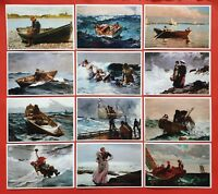 Beautiful Set of 12 Art Postcards Prints, The Winslow Homer Collection Seascapes