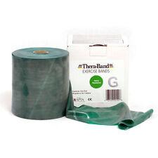 THERA-BAND ® 2,0 m grün Gymnastikband Original Theraband von der Rolle