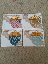 Starbucks Karte Card Oak 4x Neu USA