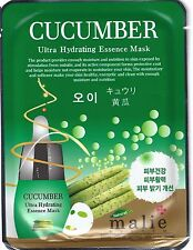 3 Pcs Moisture Essence Face Mask Sheet Korea Beauty Facial Skin Care 16 Types Cucumber