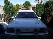 Ford Escort mk4 rs turbo xr3i front spot lamps and original ford mounting bracke