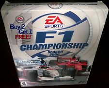 F1 Championship Season 2000, Racing, EA Sports (PC, 2000) NISB