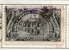 Peru 1905-21 Early Issue Fine Used 50c. 182352