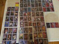 Walt Disney Black Hole Trading Cards 88 Complete Set Excellent Condition