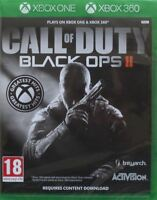Call of Duty Black Ops 2 II Xbox 360 Xbox One New and Sealed