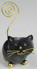 Handmade Metal Cat Ornament Photo Memo Holder
