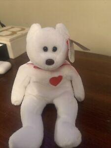 valentino beanie baby with errors