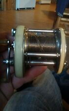 Vintage Shakespeare PRESIDENT #1970 Model GD Casting Reel, stainless steel, USA