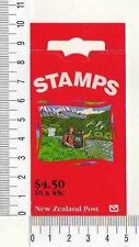 11532) New Zealand 1995 Booklet - Nature Animals NZ $0.45 x 10