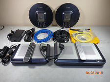 LifeSize team 220 express HD Video Conferencing 2nd gen equipment MIXED LOT