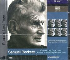 Samuel Beckett Waiting For Godot audiobook 2-discs CD Unabridged Naxos Drama