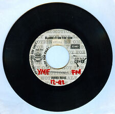 Philippines DIANA ROSS Blame It On The Sun 45 rpm PROMO Record