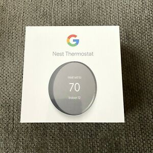 Google Nest Smart Thermostat, Charcoal - GA02081 - US