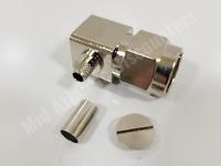 100 Lands Precision TNC Male Crimp RF Connector LMR-240
