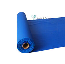 Royal Blue 100 Ft Plastic Buffet Banquet Roll Wedding Party Table Cover